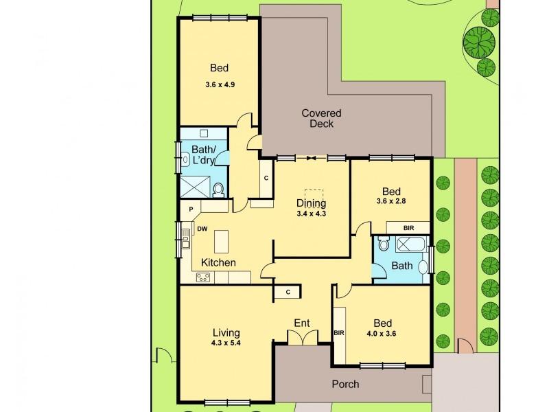 5 Yawla Street, Bentleigh VIC 3204 Floorplan