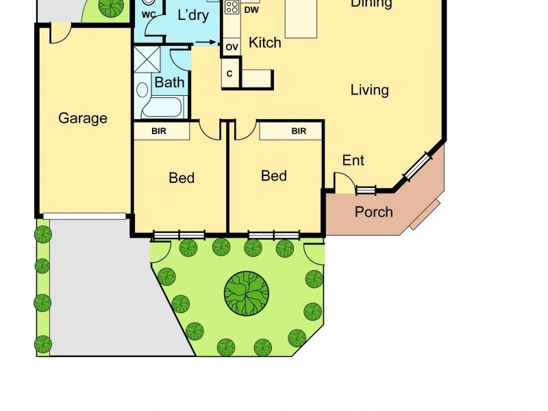 1/1 Blair Street, Bentleigh VIC 3204 Floorplan