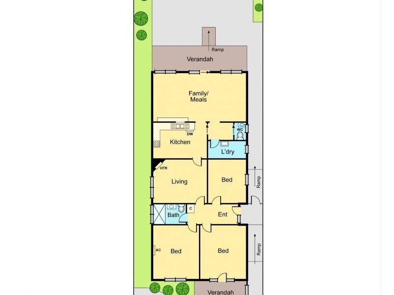 61 Nicholson Street, Mckinnon VIC 3204 Floorplan
