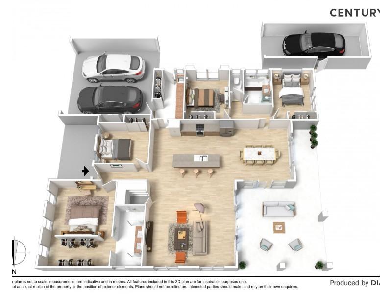 9 Healey Court, Moama NSW 2731 Floorplan