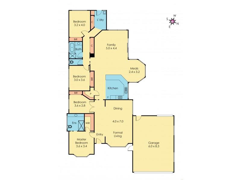 11 Wool Shed Road, Narre Warren South VIC 3805 Floorplan