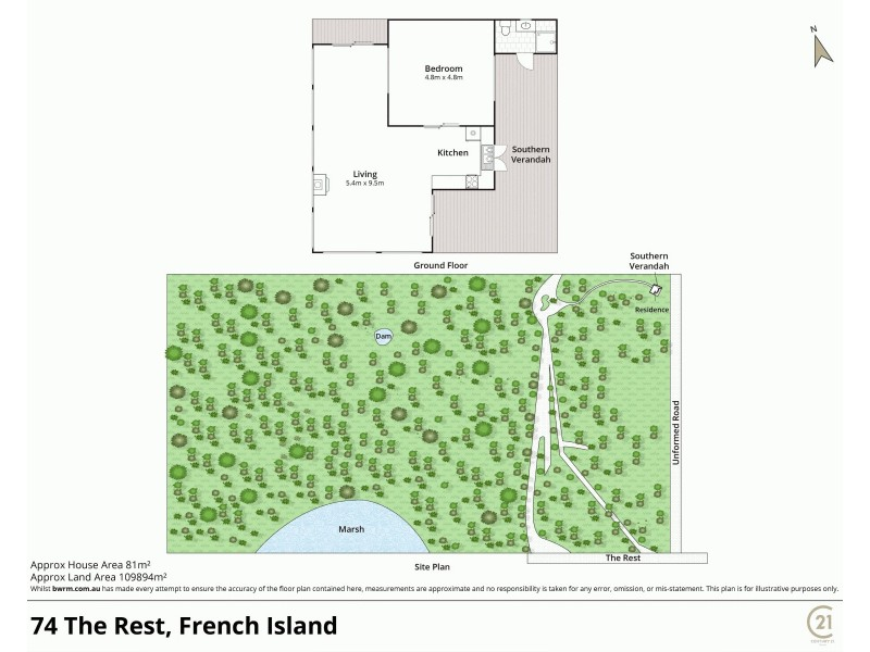 74 The Rest, French Island VIC 3921 Floorplan
