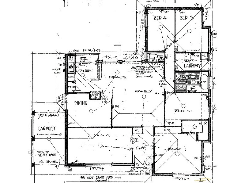 2 Adams Court, Kelmscott WA 6111 Floorplan
