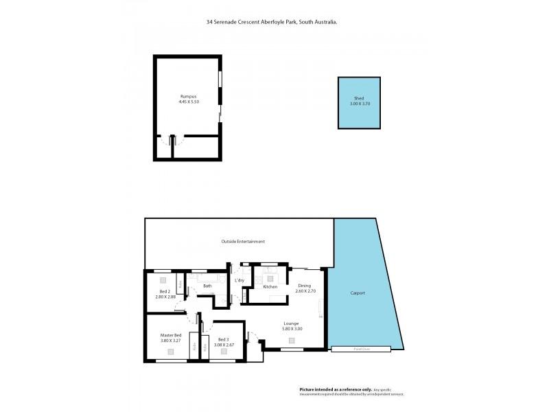 34 Serenade Crescent, Aberfoyle Park SA 5159 Floorplan