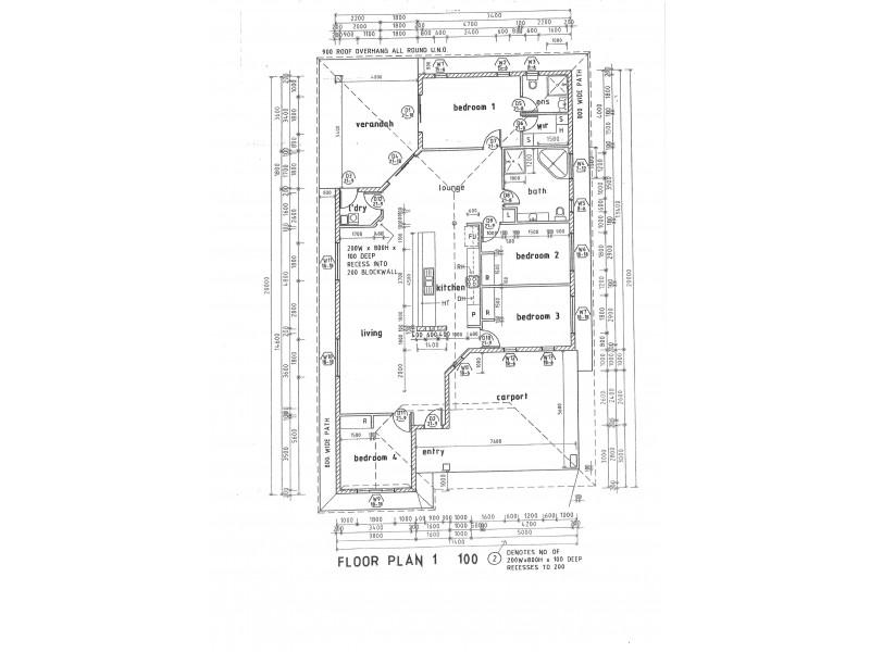 142 Flynn Cct, Bellamack NT 0832 Floorplan