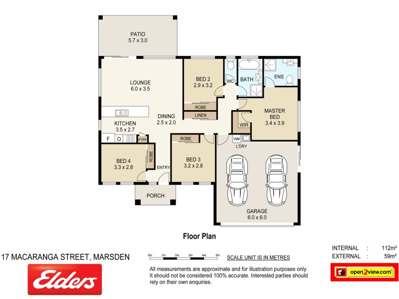 17 Macaranga Street, Marsden QLD 4132 Floorplan