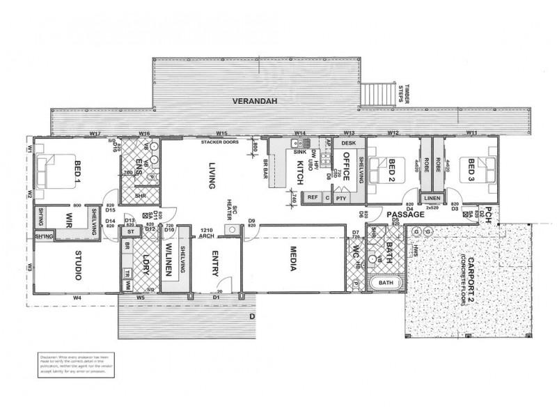 23 Stormbird Drive, Boston SA 5607 Floorplan