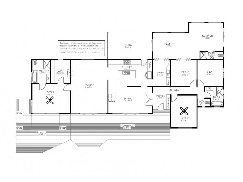 177 Richardson Road, Boston SA 5607 Floorplan