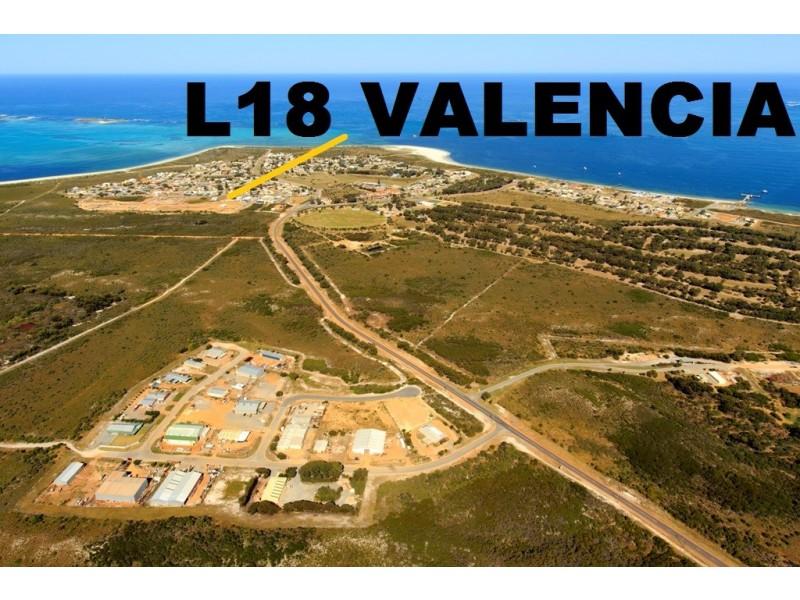 LOT 18 VALENCIA ROAD, Cervantes WA 6511