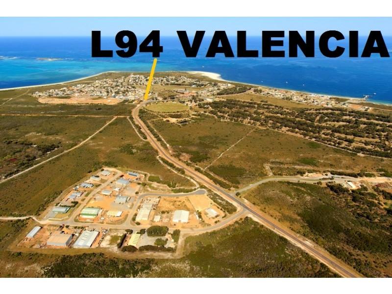LOT 94 VALENCIA  ROAD, Cervantes WA 6511
