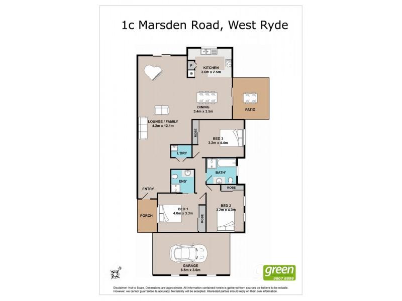 3/1-3 Marsden Road, West Ryde NSW 2114 Floorplan