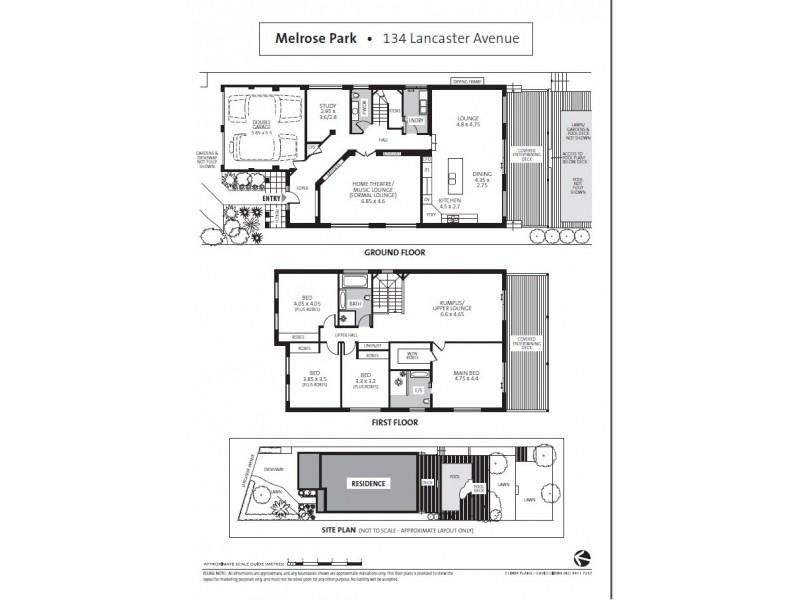 134 Lancaster Avenue, West Ryde NSW 2114 Floorplan