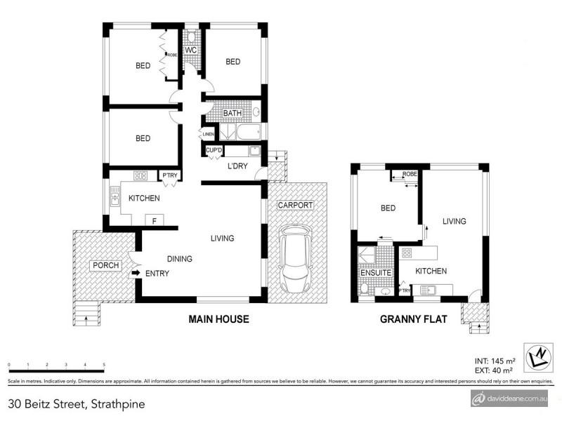30 Beitz Street, Strathpine QLD 4500 Floorplan