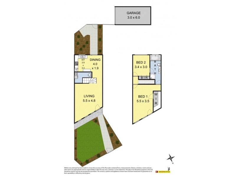 1/214 Queen Street, Altona VIC 3018 Floorplan