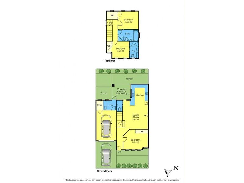 57a Second Avenue, Altona North VIC 3025 Floorplan