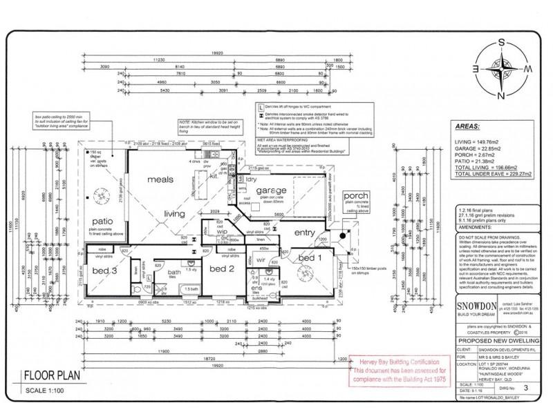 20 Ronaldo Way, Urangan QLD 4655 Floorplan
