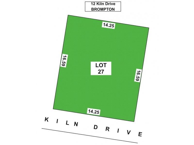 12 Kiln Drive, Brompton SA 5007 Floorplan