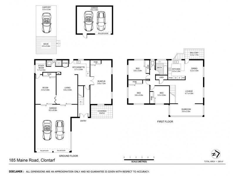 185 Maine Road, Clontarf QLD 4019 Floorplan