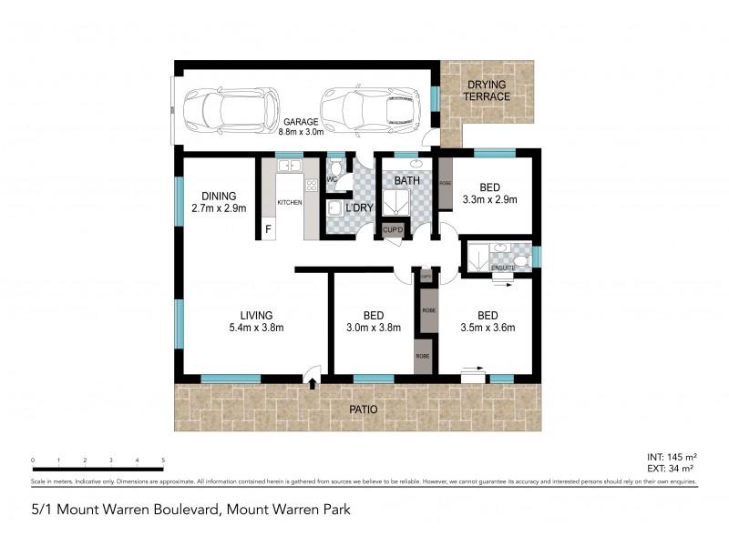 35/1 Mount Warren Boulevard, Mount Warren Park QLD 4207 Floorplan
