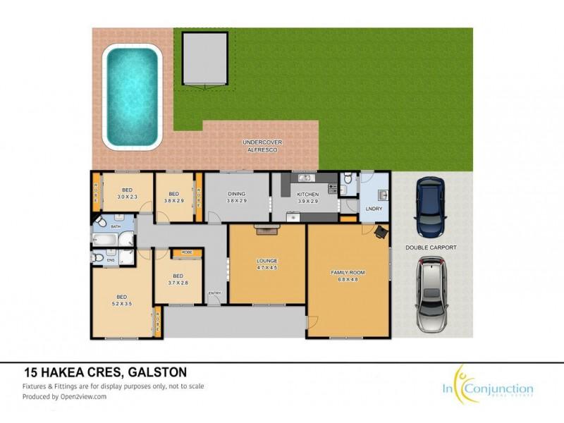 15 Hakea Crescent, Galston NSW 2159 Floorplan