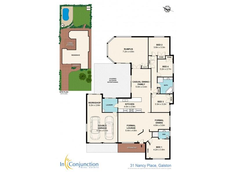 31 Nancy Place, Galston NSW 2159 Floorplan