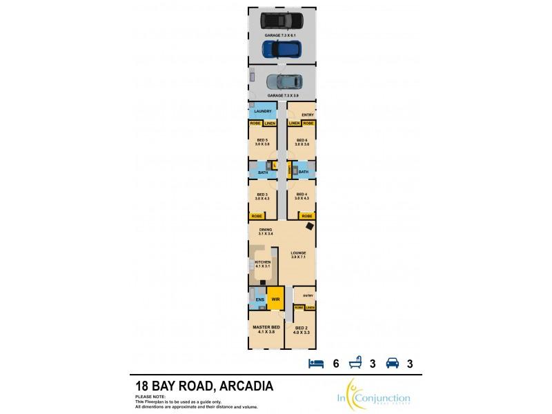 18 Bay Road, Arcadia NSW 2159 Floorplan