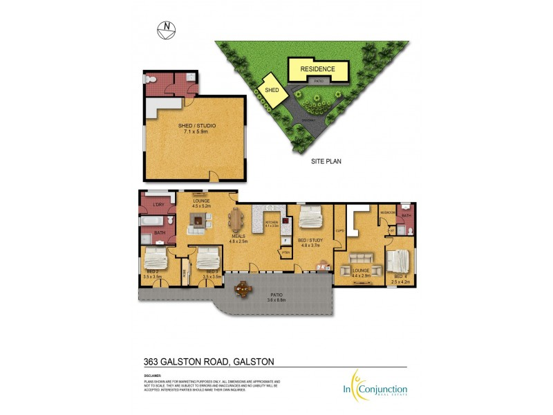 363 Galston Road, Galston NSW 2159 Floorplan