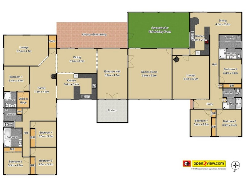 Canoelands NSW 2157 Floorplan