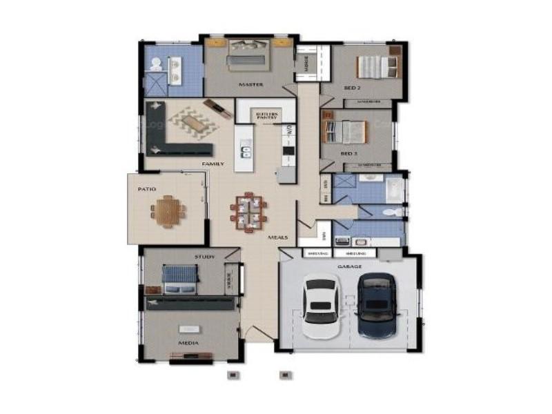 29 Babiana Street, Alexandra Hills QLD 4161 Floorplan