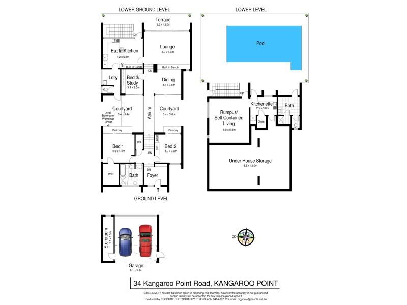 Kangaroo Point NSW 2224 Floorplan