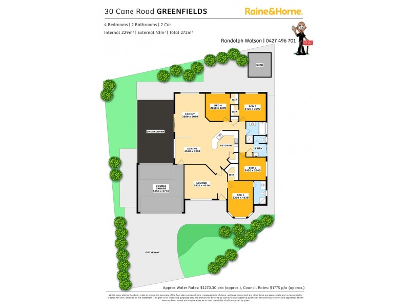 30 CANE ROAD, Greenfields WA 6210 Floorplan