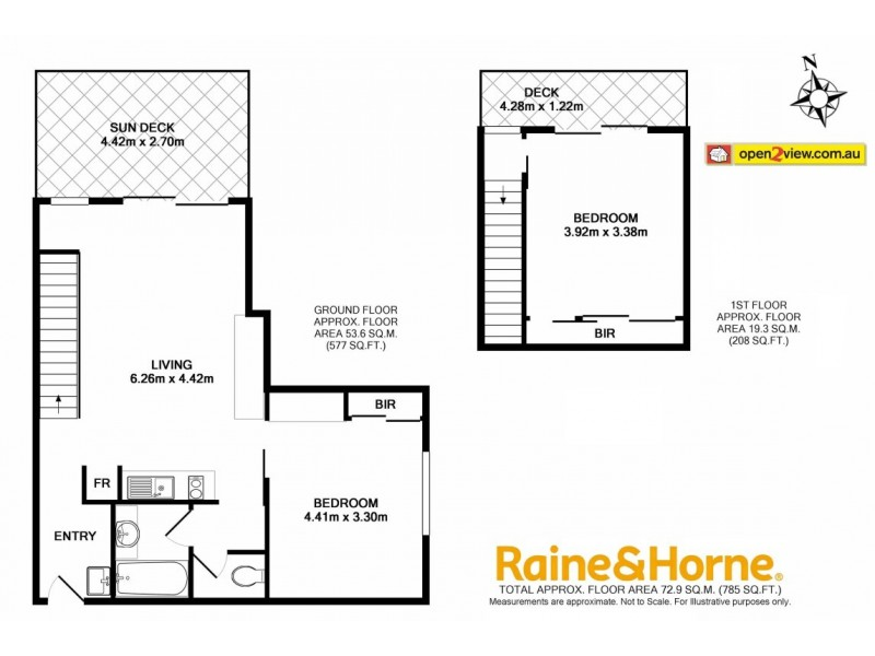 205/202-208 Beach Road, Batehaven NSW 2536 Floorplan