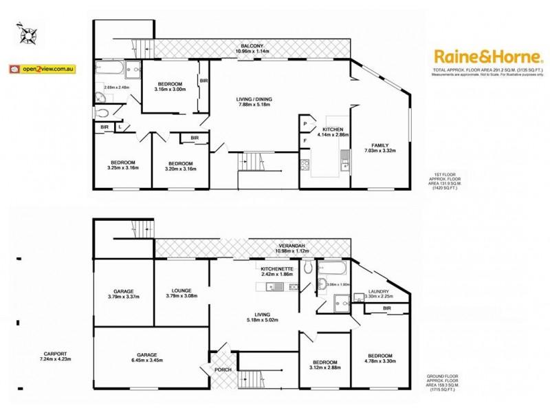 1 View Street, Batehaven NSW 2536 Floorplan