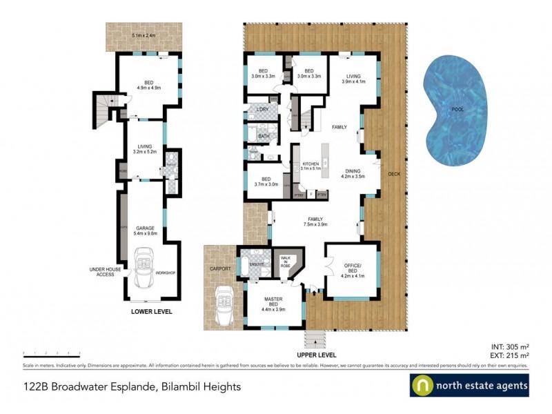 122B Broadwater Esplanade, Bilambil Heights NSW 2486 Floorplan