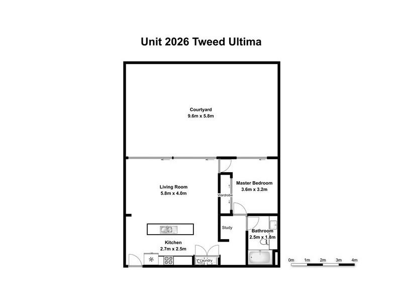 2026 / 18-20 Stuart St, Tweed Heads NSW 2485 Floorplan