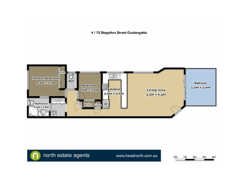4 / 72 Stapylton Street, Coolangatta QLD 4225 Floorplan