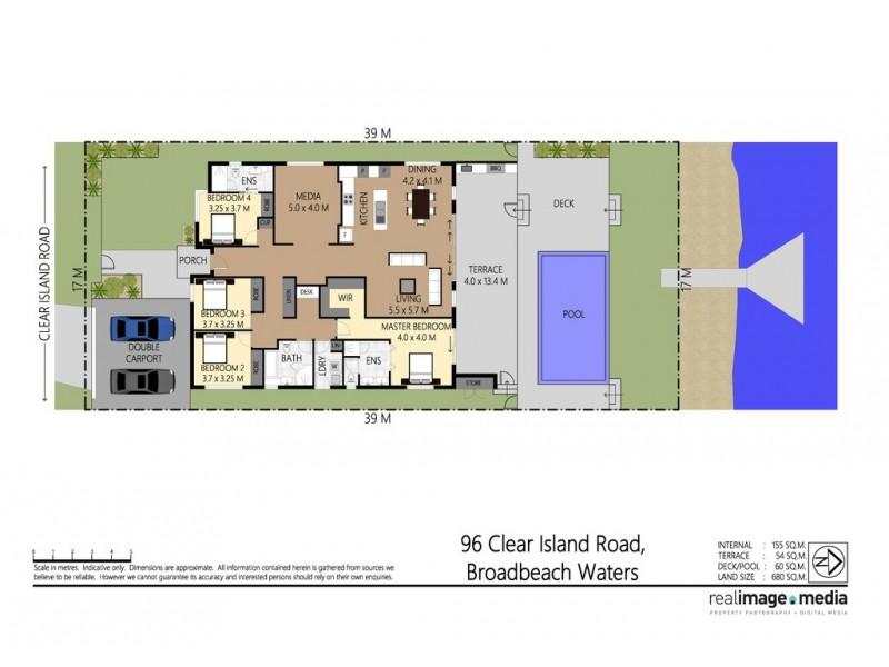 96 Clear Island Road, Broadbeach Waters QLD 4218 Floorplan