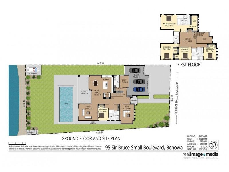 95 Sir Bruce Small Boulevard, Benowa Waters QLD 4217 Floorplan