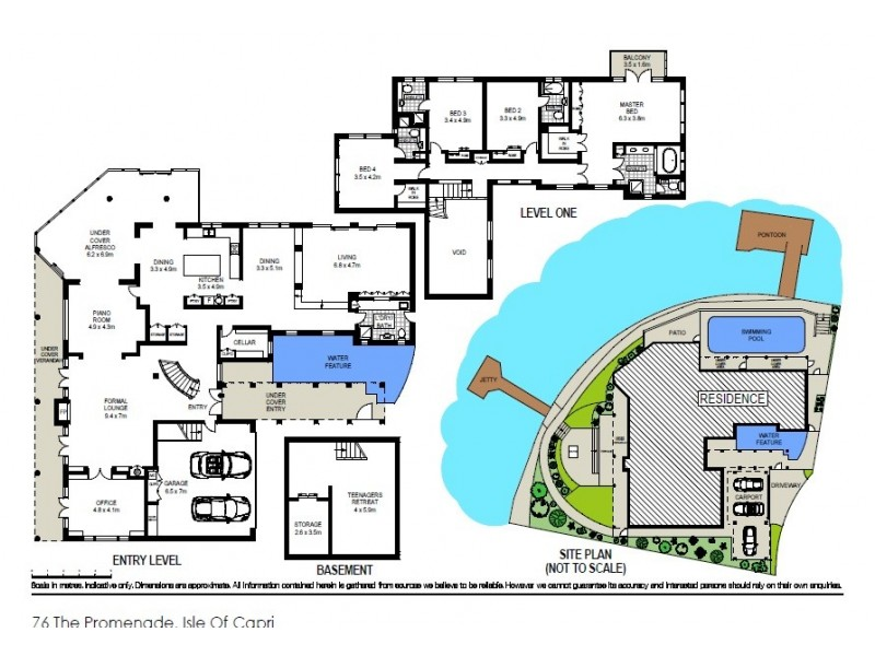 74-76 The Promenade, Isle Of Capri QLD 4217 Floorplan