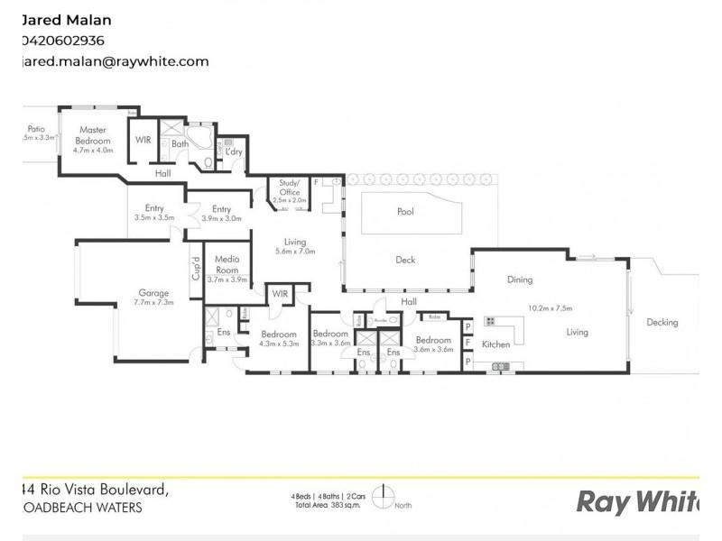 144 Rio Vista Boulevard, Broadbeach Waters QLD 4218 Floorplan