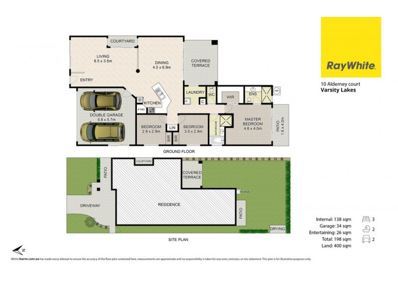 10 Alderney Court, Varsity Lakes QLD 4227 Floorplan