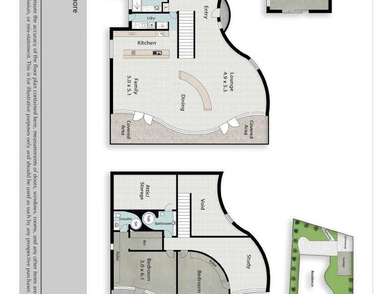 43 Glenmore Drive, Ashmore QLD 4214 Floorplan