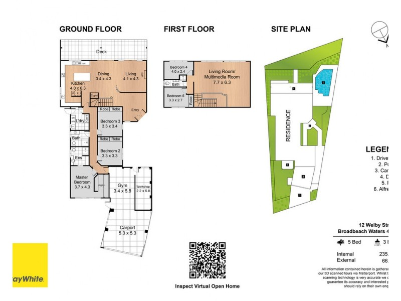 12 Welby Street, Broadbeach Waters QLD 4218 Floorplan