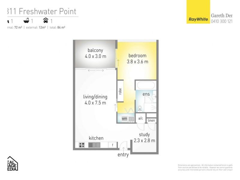 2311/33 T E Peters Drive 'Freshwater Point', Broadbeach Waters QLD 4218