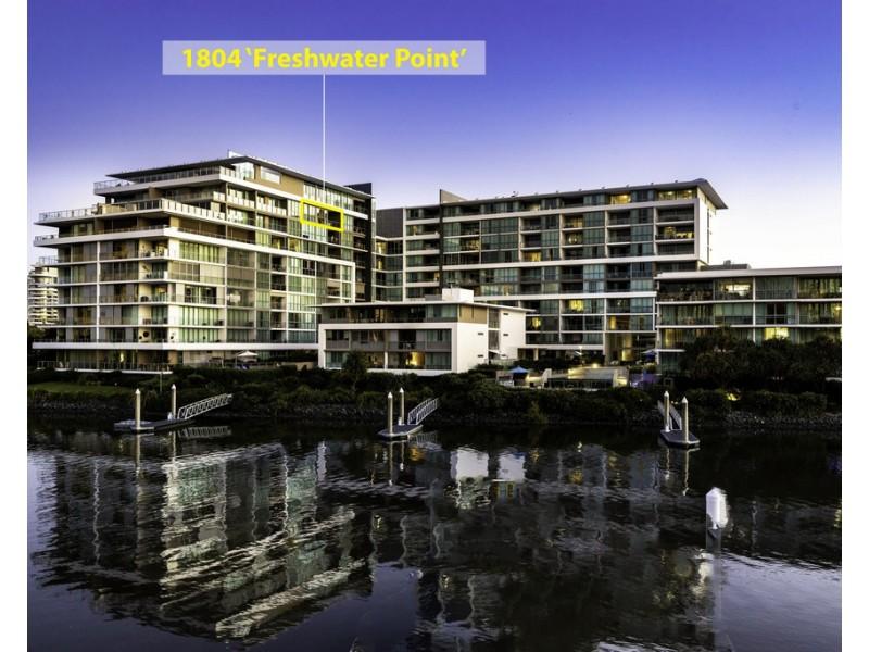 1804/33 T E Peters Drive 'Freshwater Point', Broadbeach Waters QLD 4218