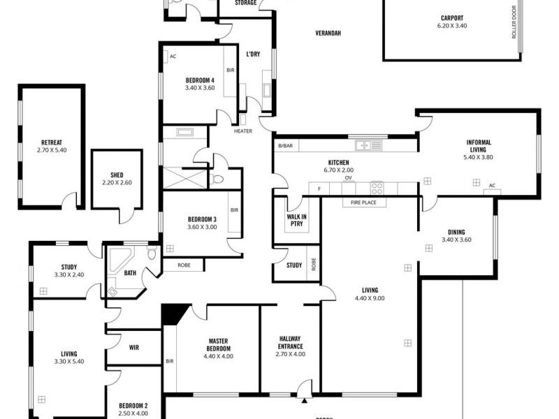 2 East Parkway, Colonel Light Gardens SA 5041 Floorplan
