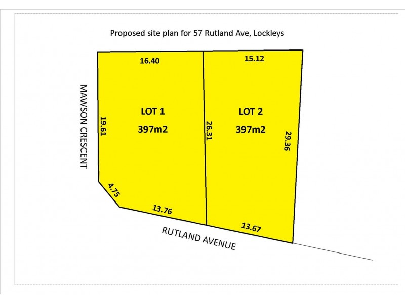 Lot 2, 57 Rutland Avenue, Lockleys SA 5032