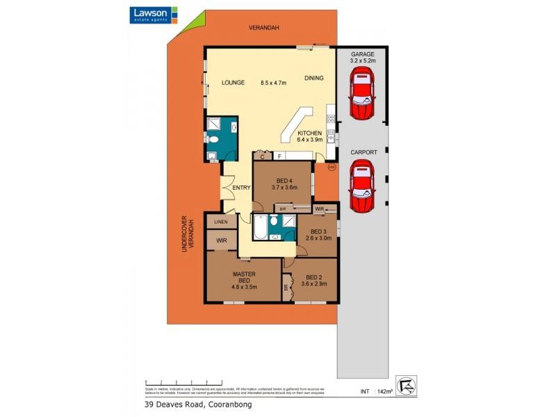 5 Mountain Ash Drive, Cooranbong NSW 2265 Floorplan