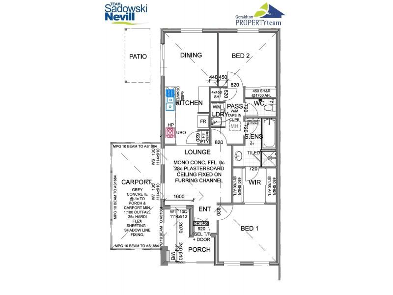13/210 Durlacher Street, Geraldton WA 6530 Floorplan