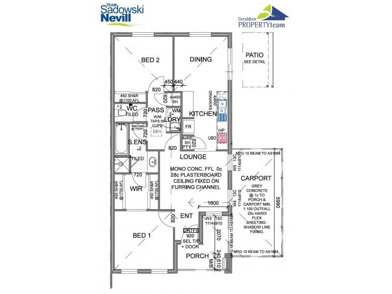 14/210 Durlacher Street, Geraldton WA 6530 Floorplan